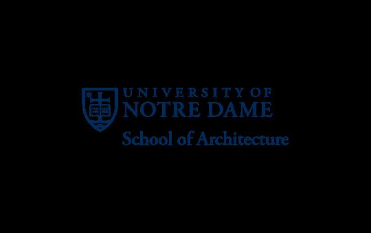 university of notre dame - study architecture